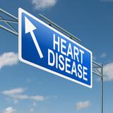 Heart disease concept. poster