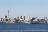 Elliott Bay, Washington State Ferry, Seattle