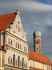 Michaelskirche and Frauenkirche