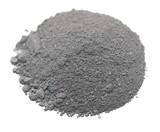Pile Gunpowder (black powder) Isolated on white background poster