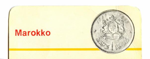 Marrocan coin
