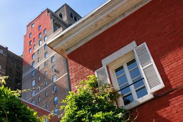 Rotes Backsteinhaus, Greenwich Village, New York City