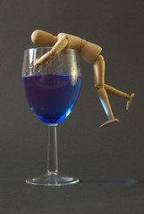 Little Man Loves a Drink