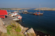 Harbor in Norway. Verdens Ende