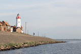 Historic lighthouse of Urk, the Netherlands