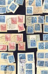 Konvolut Briefmarken / 5-Jahresplan / DDR / Alt