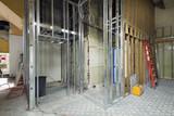 Fototapety Commercial Space Metal Stud Framing