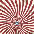 Abstract background with american flag elements. Vector illustra