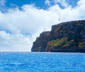 Formentera Faro de la Mola lighthouse sea view