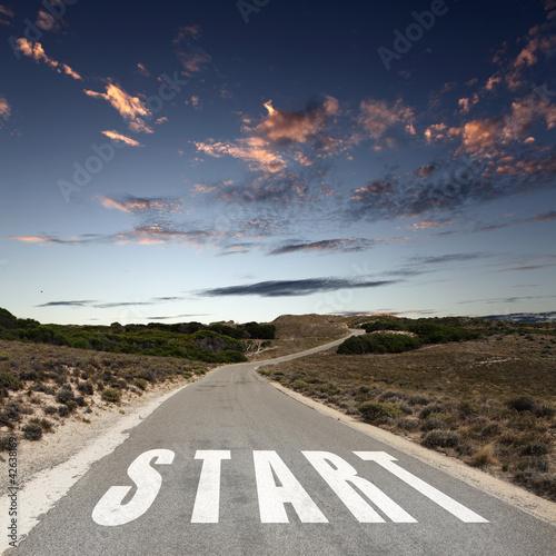 Start Straight for sun