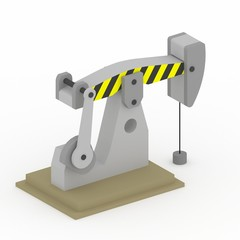 3D oil driller