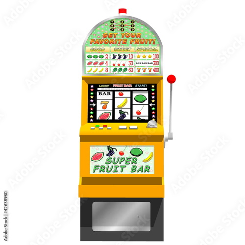 3D slot machine (traditional)