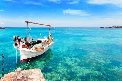 Els Pujols plaży w Formentera