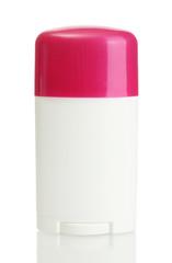 deodorant isolated on white