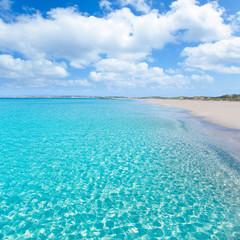 Formentera Llevant tanga turquoise beach