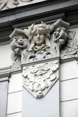 Hausdetail in Bad Pyrmont