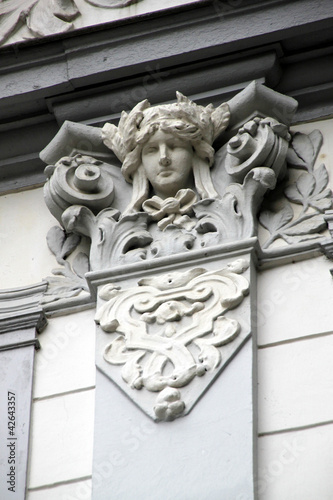 Hausdetail in Bad Pyrmont