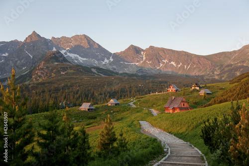 Polish Tatra mountains hala gąsienicowa - 42643507