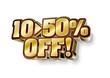 10~50%OFF