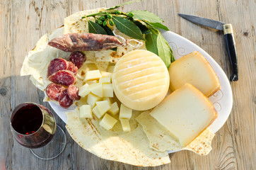 typical food products from Sardinia