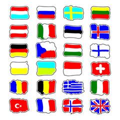 flaggen gezeichnet I