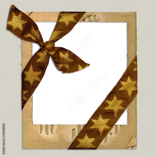 ribbon schleife polaroid frame rahmen weihnachten von secondcorner lizenzfreies foto 42648105. Black Bedroom Furniture Sets. Home Design Ideas