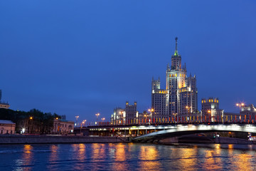High-rise building on Kotelnicheskaya Embankment