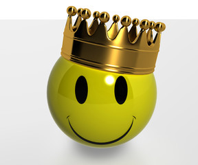 Smile with the Gold Crown