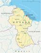 Guyana Map (Guyana Landkarte)