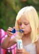 Spiel mit Seifenblasen