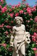 Götterstatue im Rosengarten, Baden-Baden