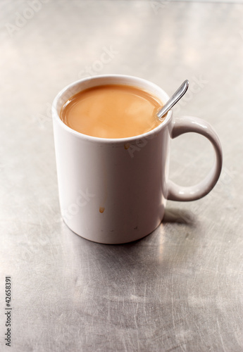 Mug of English tea