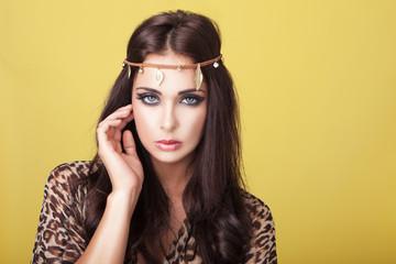 Sexy woman in headband