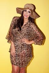 Stunning stylish woman