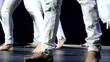 baile piernas