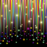 Strisce Colori e Luci-Bright Colors and Glitter Stripes-Vector