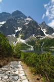 Polish Tatra Mountains Morskie Oko lake, Poland - 42660531