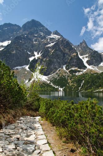 Polish Tatra Mountains Morskie Oko lake, Poland © great_photos