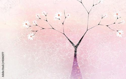 Tree feminine abstraction