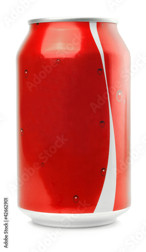 canvas print picture red Aluminum Can