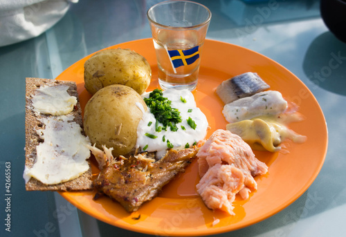 Swedish Midsummer Lunch