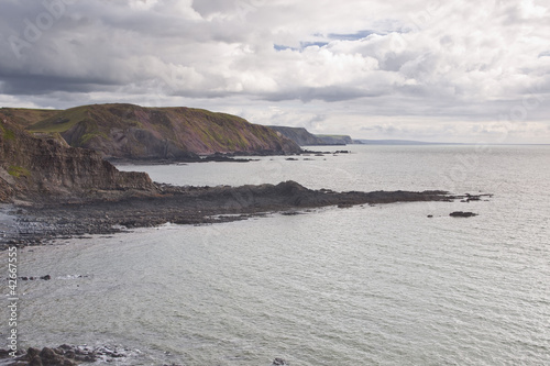 Coastline near to Hartland Quay