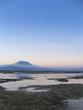nusa lembongan sunset volcano bali