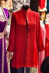 traditional  woman's Arab clothing