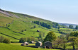 Lush green countryside of the Yorkshire Dales
