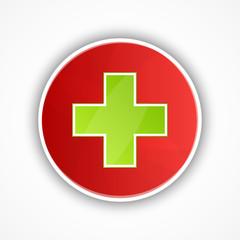 vector symbol of medical icons design.