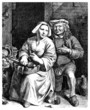 Peasant Lovers - 17th century