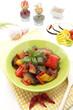 verdura mista in salsa di pomodoro