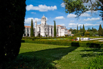 El monasterio de los Jerónimos