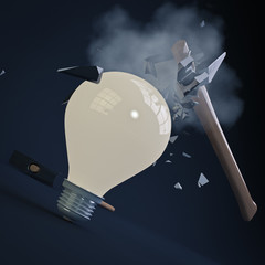 Indestructible Light Bulb